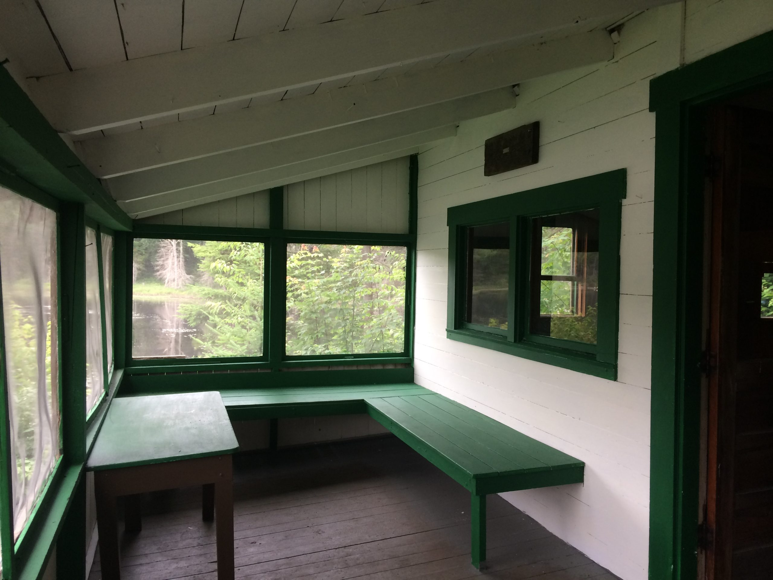 Hadsel-Mares Cabin updated porch